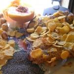 Crostata di pesche (senza uova, zucchero e burro)