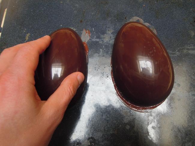incollamento uova