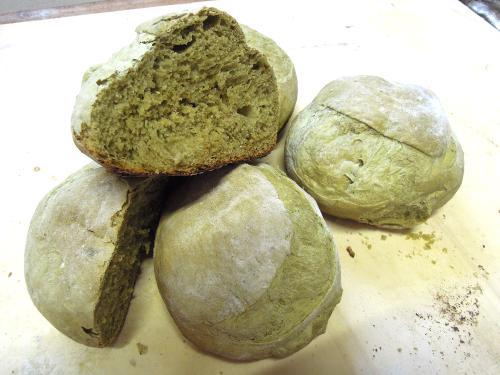 pane al thé verde matcha