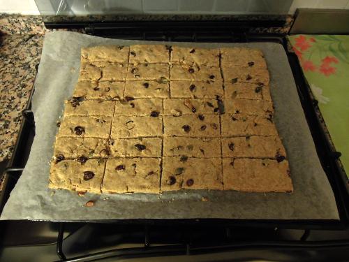 biscotti tagliati