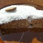 Torta di Kamut al cocco