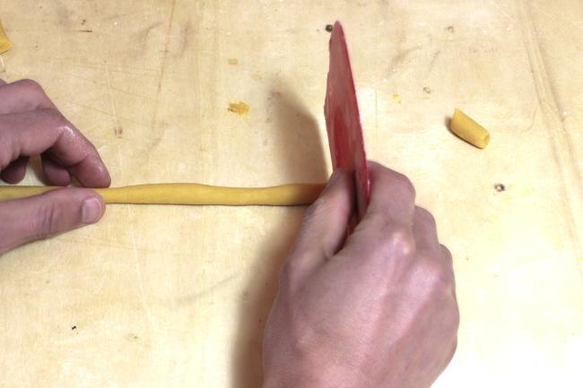 Porzionamento salsicciotto