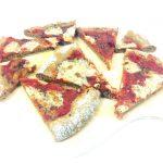 pizza di farro vegana